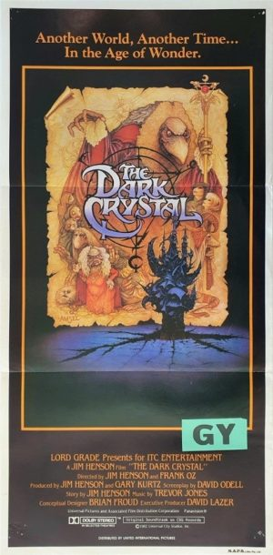 The Dark Crystal Australian daybill movie poster (10)