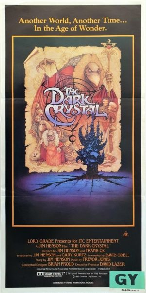 The Dark Crystal Australian daybill movie poster (12)