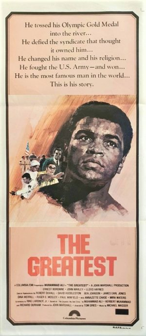 The Greatest Australian daybill movie poster boxing legend Muhammad Ali (89)