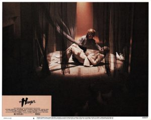 The Hunger US Lobby Card 1983 with David Bowie (6)