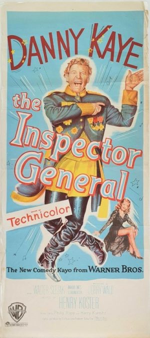 The Inspector General Australian Daybill Poster with Danny Kaye (12)