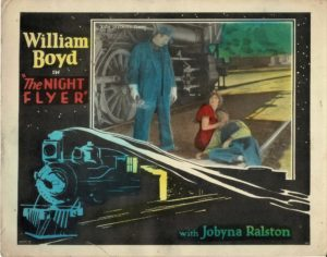 The Night Flyer US Lobby Card with William Boyd 1928 (4)