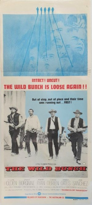 The Wild Bunch Australian daybill poster (4)