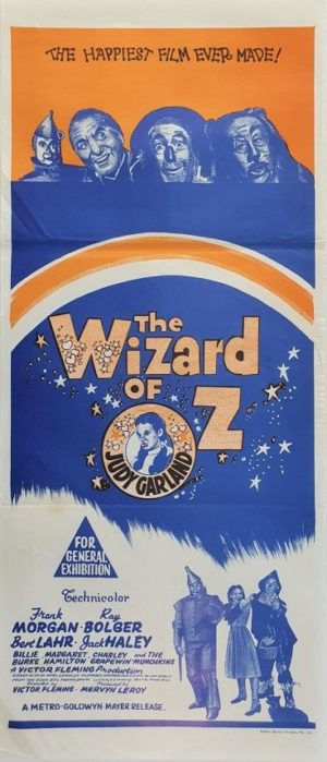 The Wizard of Oz rerelease Australian daybill movie poster (56)