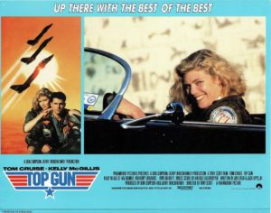 Top Gun UK Lobby card with Tom Cruise 1986 (15)