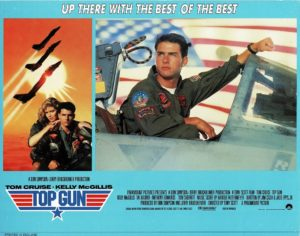 Top Gun UK Lobby card with Tom Cruise 1986 (19)