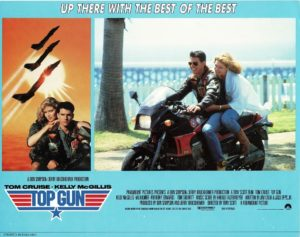 Top Gun UK Lobby card with Tom Cruise 1986 (22)