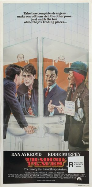 Trading Places Australian daybill movie poster (15)