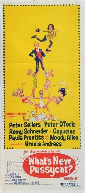 What's new pussycat Australian Daybill movie poster (7)