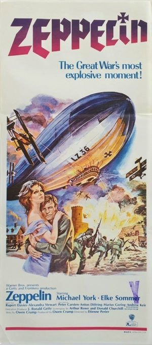 Zeppelin Australian daybill movie poster (84)
