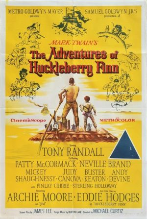 Adventures of Huckleberry Finn Australian One Sheet film poster (4)