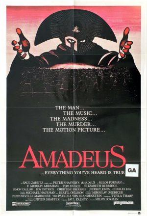 Amadeus Australian One Sheet Poster (13)