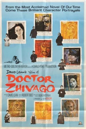 Doctor Zhivago US 40 x 60 film poster by David Lean (10)