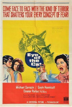 Eye of the Cat Australian One Sheet Poster (6)