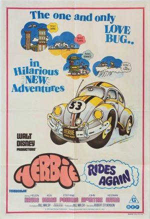 Herbie Rides Again Australian One Sheet Poster (8)