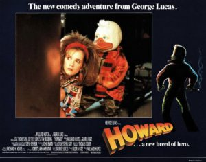 Howard the Duck UK Lobby Card 1986 Directed by George Lucas staring Lea Thompson Jeffrey Jones and Tim Robbins (13)