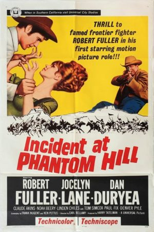 Incident at phantom Hill US One Sheet film poster (33)