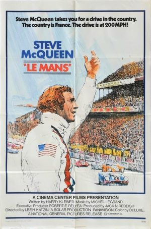 Le Mans US One Sheet Poster with Steve McQueen 1971 (16)