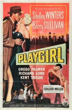 Playgirl US One Sheet movie poster with Shelley Winters (6)