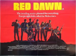 Red Dawn UK Quad Poster (1)