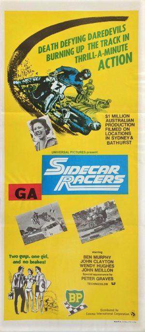 Sidecar Racers Australian daybill movie poster (3)