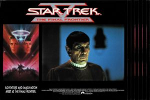 Star Trek V 5 the Final Frontier US Lobby Card Set (7)