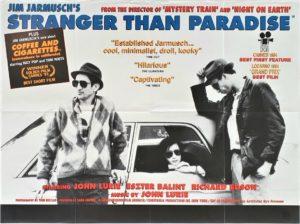 Stranger than paradise UK quad film poster (8)