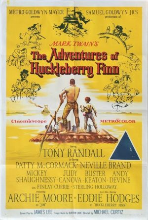 The Adventures of Huckleberry Finn Australian One Sheet movie poster (20)