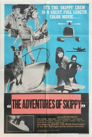 The Adventures of Skippy Australian One Sheet movie poster (22)