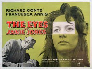 The Eyes of Annie Jones UK Quad movie film poster (2)