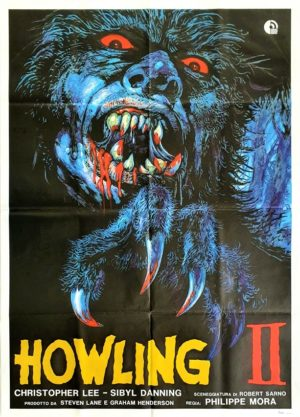 The Howling 2 Italian movie poster (6)
