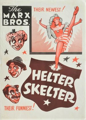 The Marx Brothers Love Happy Helter Skelter New Zealand Daybill (1)