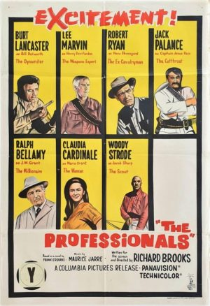 The Professionals Australian One Sheet film poster (23)