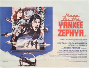 The Race For the Yankee Zephyr UK Quad Poster (3)