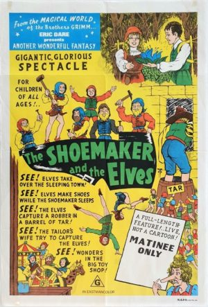The Shoemaker and the Elves Australian One Sheet movie Poster