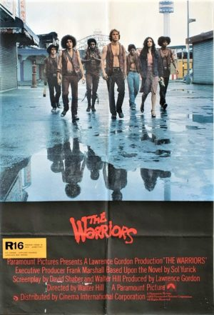 The Warriors UK Quad Poster (1)