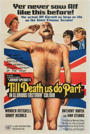 Till death us do part Australian One Sheet film poster with Alf Garnett (6)
