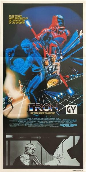 Tron Australian daybill movie poster (2)