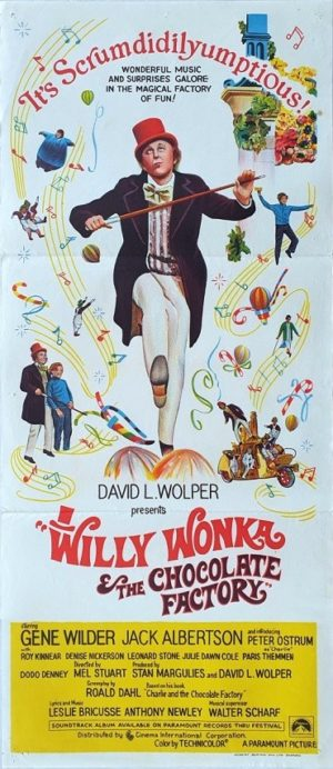 Willy Wonka and the Chocolate Factory Australian daybill poster (9)