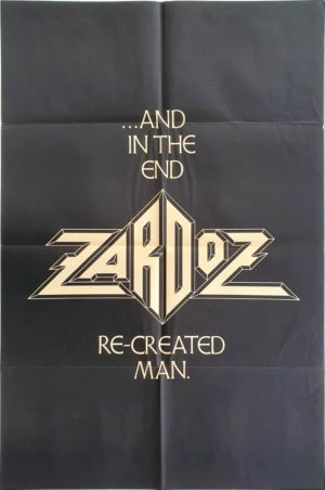 Zardoz UK Teaser One Sheet film poster with Sean Connery (1)