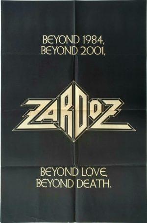 Zardoz teaser UK One Sheet film poster (14) Sean Connery