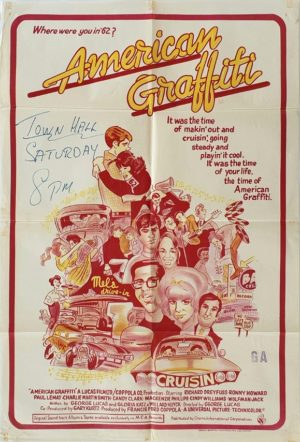 American Graffiti Australian One Sheet movie poster (9)