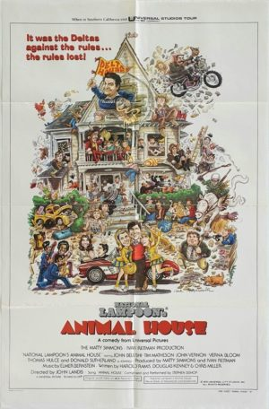 Animal House US One Sheet Movie Poster (13)