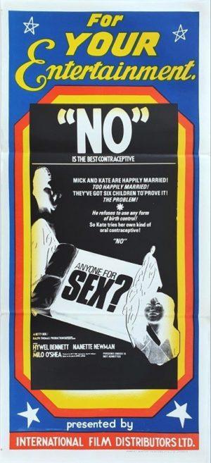 Anyone for sex Australian Daybill movie poster (123)