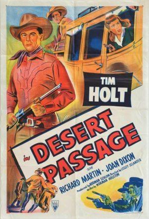 Desert Passage Australian One Sheet movie poster with Tim Holt