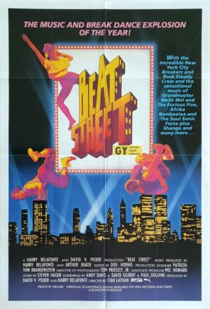 Beat Street Australian One Sheet movie poster (89)