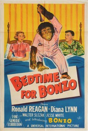 Bedtime for bonzo Australian One Sheet movie poster (50)