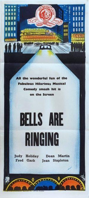 Bells Are Ringing Australian Daybill movie poster (103)