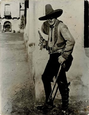 Buck Jones South of the Rio Grande 1932 11 x 14 Still (1)