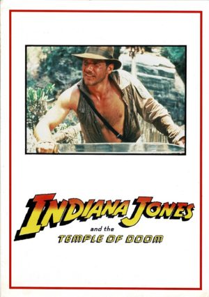 Indiana Jones and the Temple of Doom promo brochure